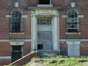 Gage School, Boys Entrance,  2001